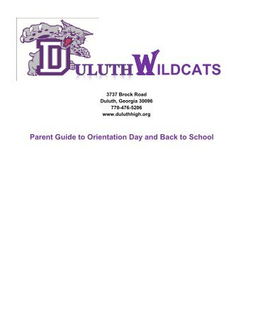 WILDCATS - Duluth High School