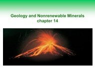 Geology and Nonrenewable Minerals chapter 14 - Duluth High School