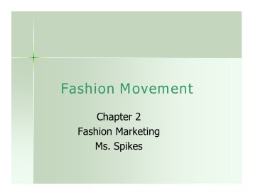 Fashion Movement - Duluth High School