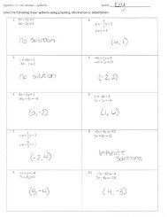 Systems Test REVIEW - ANSWER KEY - Duluth High School