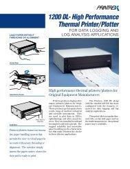 Printrex 1200 Data Sheet - TransAct