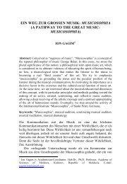 musicosophia - Agathos: An International Review of The Humanities ...