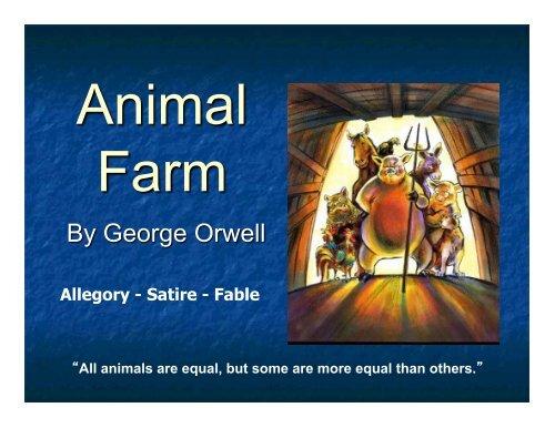 Animal Farm Background Slideshow