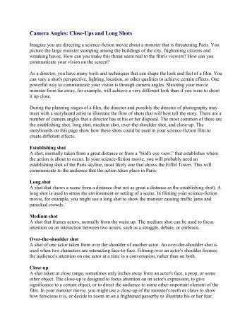 essay on camera angles forrest gump film analysis essay   scribd