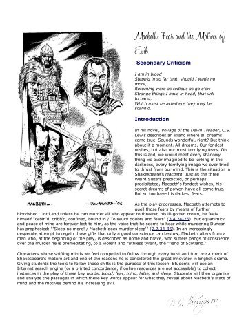 macbeths descent into evil A bbc bitesize secondary school revision resource for standard grade english on lady macbeth: before the murder, morning after, banquet that the murder will need evil power scene by scene translation into modern english, and character summaries bbc id bbc id settings sign out.