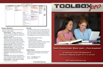 Download brochure PDF - Toolbox PRO