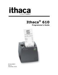 Ithaca 610 Programmer's Guide - TransAct