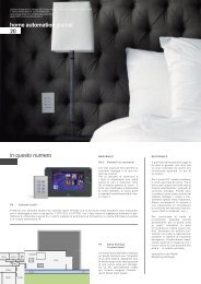 home automation journal 20 in questo numero - Vantage