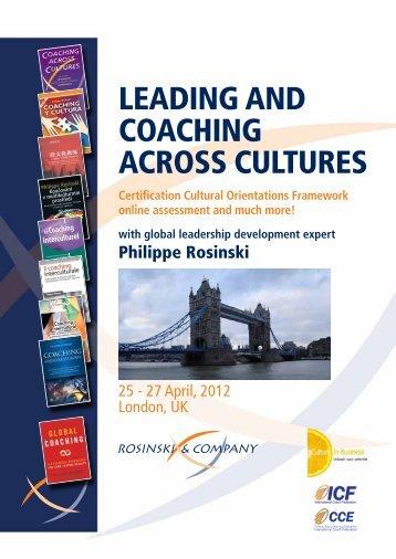 London, UK - Rosinski & Company sprl