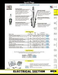 Spark Plugs - Mid-Usa Canada