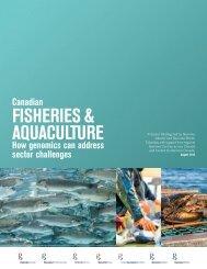 Fisheries & AquACulture - Genome Canada