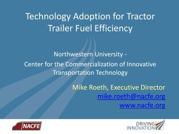 View Presentation (PDF) - Center for the Commercialization of ...