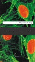 2001-02 Annual Report - Genome Canada