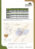 20130219 Lady Hampden Drilling Update - White Rock Minerals - Page 2