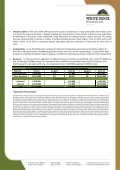 20130219 Lady Hampden Drilling Update - White Rock Minerals - Page 4
