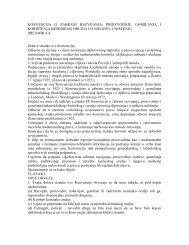 konvencija o zabrani razvijanja, proizvodnje ... - NVO Green Home
