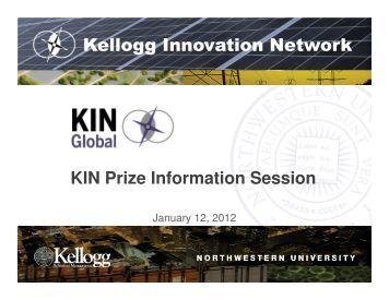 Kellogg Innovation Network - KIN Global