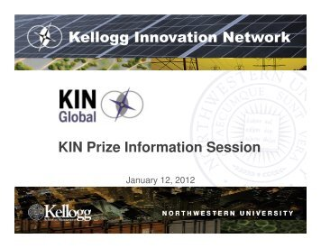 Kellogg Innovation Network - KIN Global