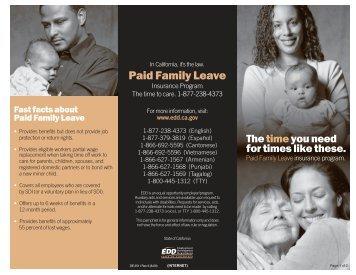 Paid Family Leave Insurance Program - Kreuzberger