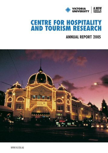10626 Annual Report.indd - Faculty of Business and Law - Victoria ...