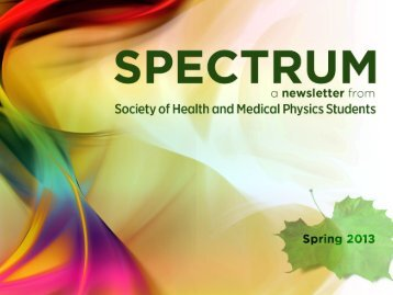 Spectrum 2013 - Biomedical Engineering - University of Florida