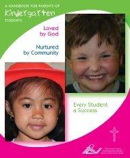 Kindergarten - PVNC Catholic District School Board