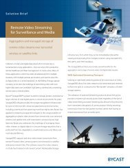 Remote Video Streaming for Surveillance and Media - Bycast