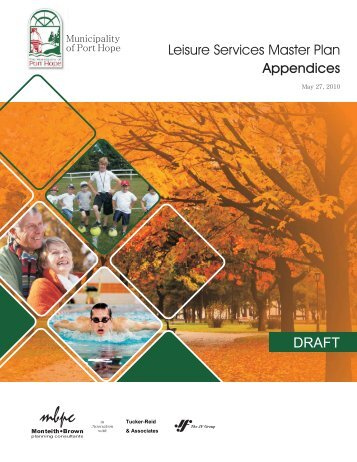 DRAFT Leisure Services Master Plan Appendices - i:Blog ...