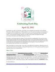 Celebrating Earth Day April 22, 2012 - i:Blog - eSolutions Group Ltd