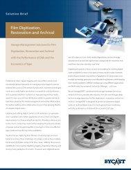 Bycast Film Digitization, Restoration and Archival Solution Brief