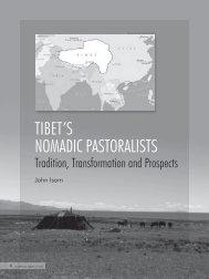 TIBET'S NOMADIC PASTORALISTS - iwgia