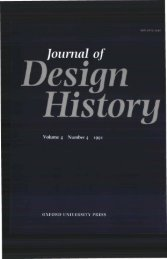 Front Matter (PDF) - Journal of Design History