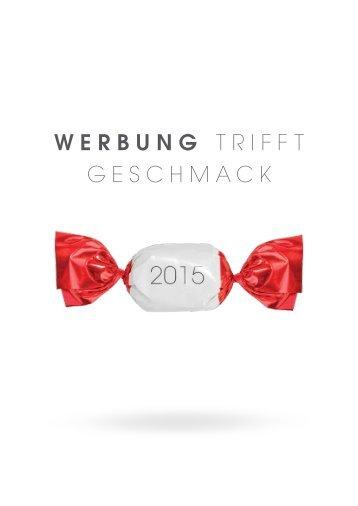 WERBUNG TRIFFT GESCHMACK