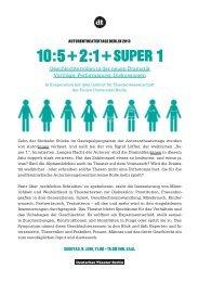 Flyer Symposium - Gender Studies