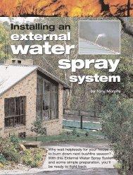 external system external system - Dural Irrigation