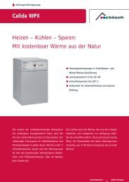 Calida WPX Heizen – Kühlen – Sparen: Mit kostenloser Wärme aus ...