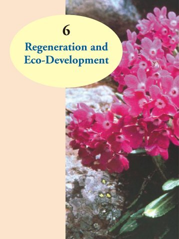 Regeneration and Eco-Development - Ministry of Environment and ...