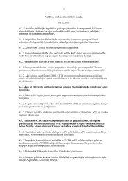 Valdības rīcības plāns/ārlietu sadaļa –