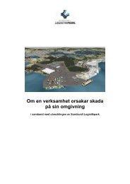 Om en verksamhet orsakar skada på sin omgivning - Sundsvall