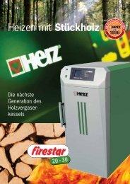 Heizen mit Stückholz - System Sonne GmbH