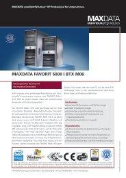 MAXDATA FAVORIT 5000 I BTX M06
