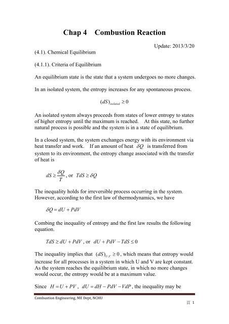 Chap4 Combustion Reaction pdf