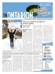 2011 GIVING UP - The Ontarion