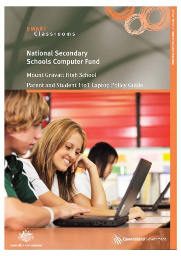 Mount Gravatt High School Parent and Student 1to1 Laptop Policy ...
