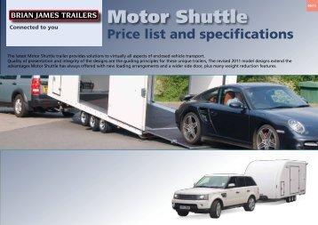 Motor Shuttle - KAPPA TRAILER