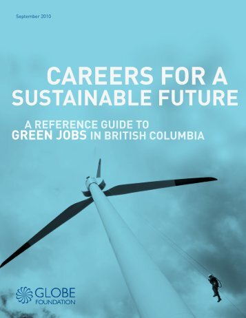 CAREERS FOR A - BC's Green Economy