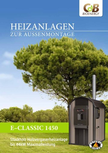Download Produktblatt E-Classic 1450 - CB Bioenergy GmbH