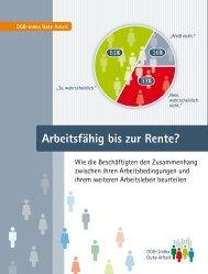 Studienergbenisse DGB-Index Gute Arbeit 2008