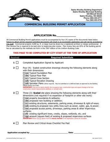Edmonton Building Permit Application