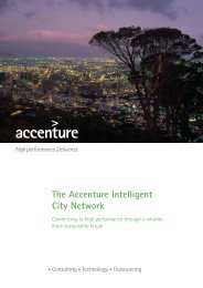 The Accenture Intelligent City Network